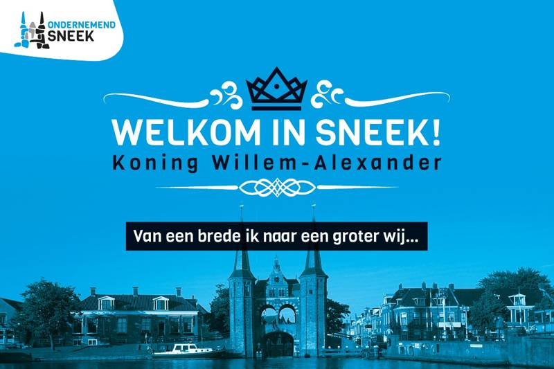 23 januari extra Koningsdag in Sneek?